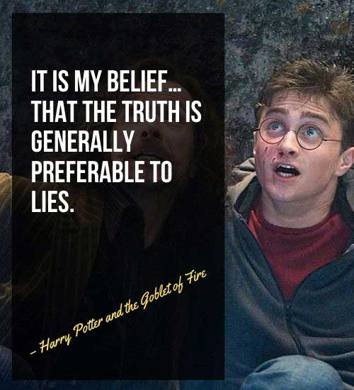 Famous Harry Potter Quotes