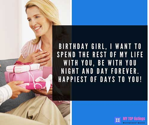 Happy Birthday Text for Her