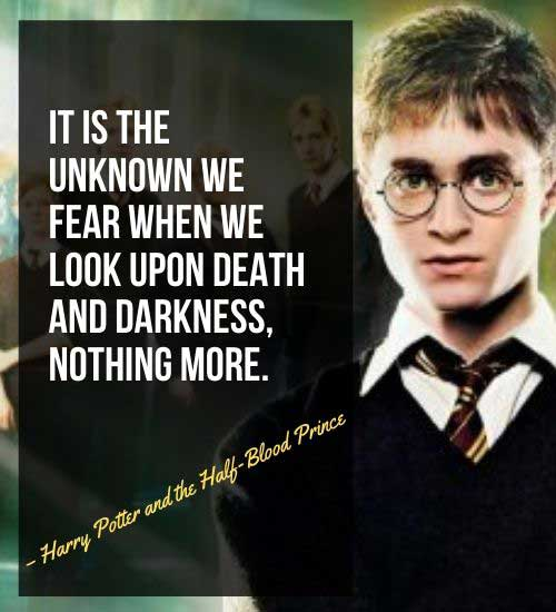 Inspirational Quotes from Harry Potter