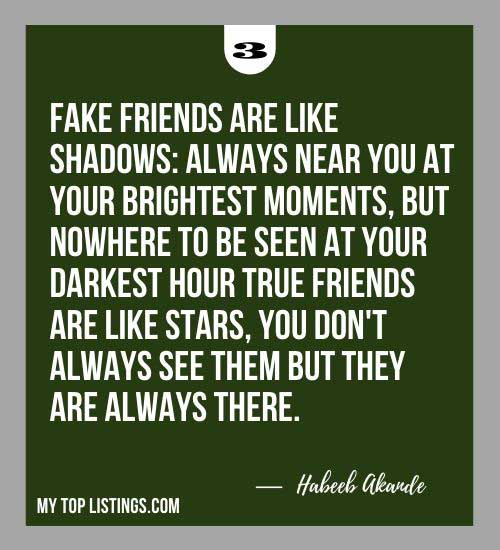 Quotes About Fake Friends 3