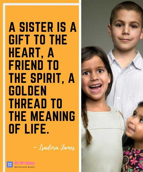 Quotes For Brothers And Sister