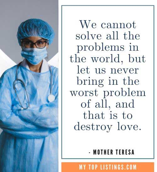Mother Teresa Quotes poverty