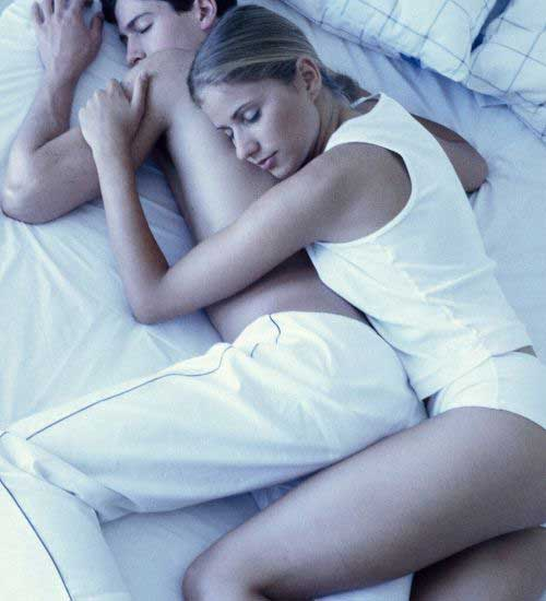 Spooning Couple Sleeping Positions