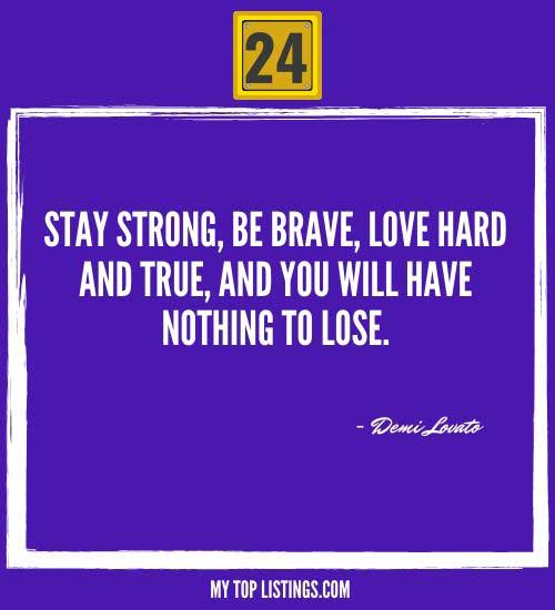 quotes about being strong alone 24