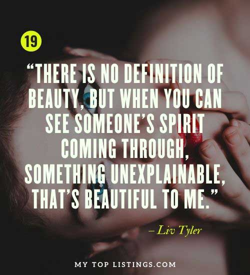 you are not only beautiful on the outside