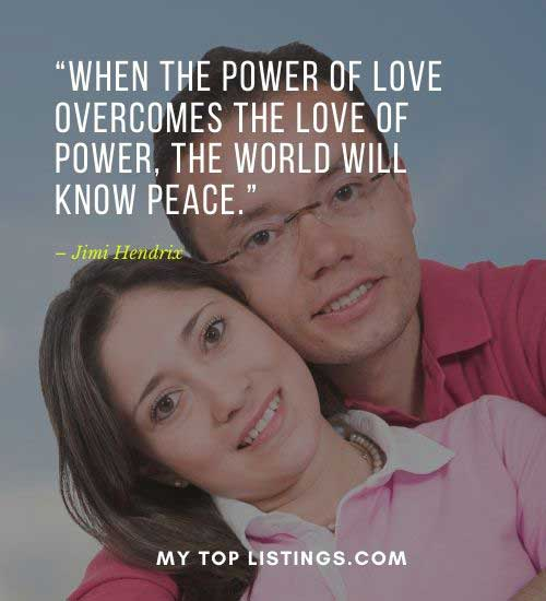 peace love quotes