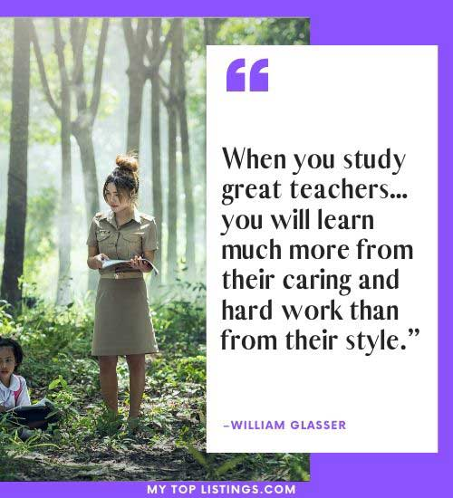 quotes about being a teacher