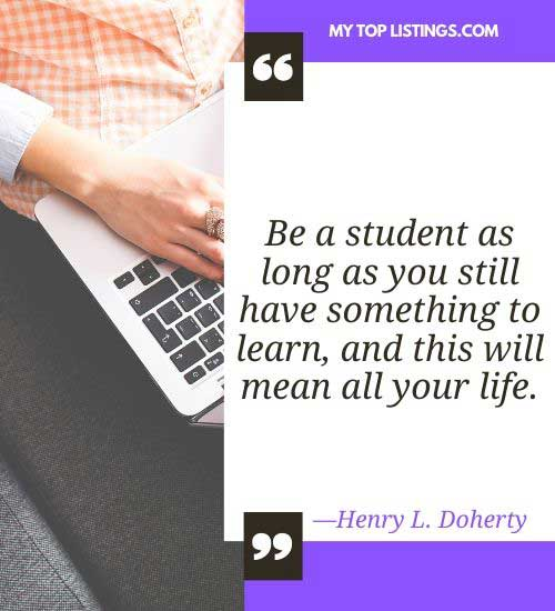 simple thought for the day for students