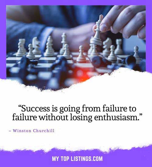 quotes about failure and success