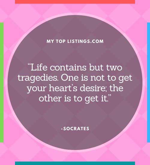 socrates quotes about life