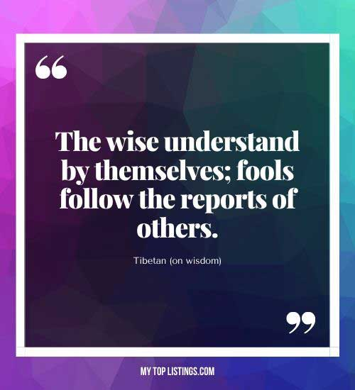 quotes about knowledge and wisdom