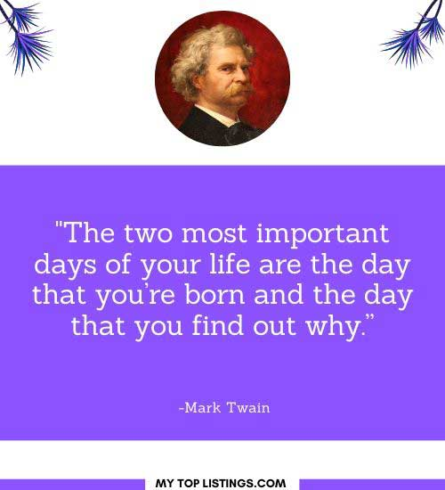 brainy quotes mark twain