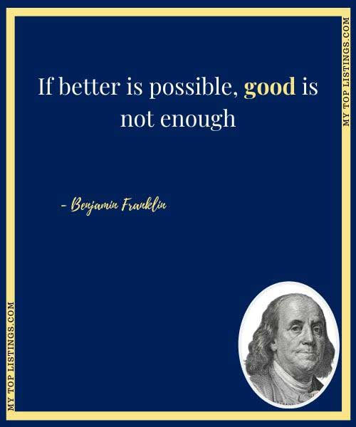 benjamin franklin facts