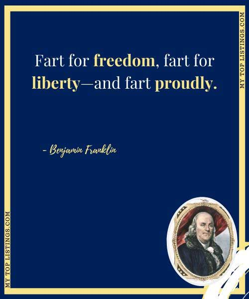 benjamin franklin speech