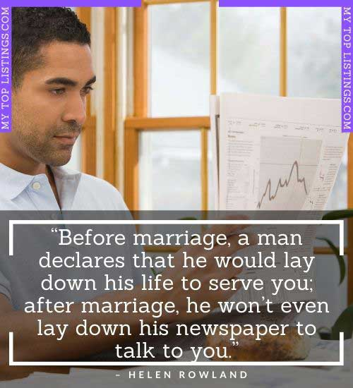 short funny marriage quotes