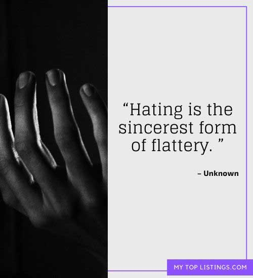 hater quotes for facebook
