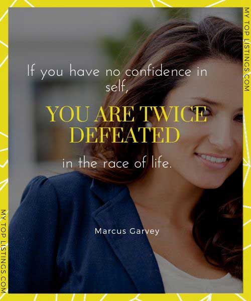 quotes about having self confidence