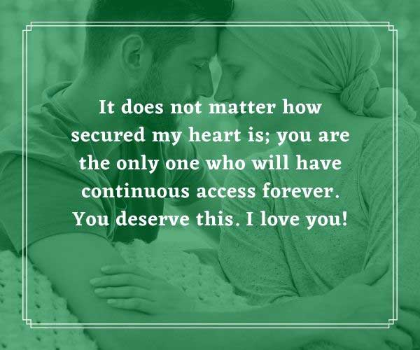 Short Love Messages for Wife
